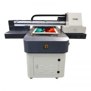a4 velikost digitálního uv tiskového stroje PVC plátno plátno koberec kůže tiskárna