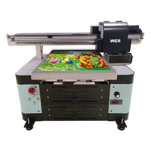 dobrá cena a2 flatbed malá uv tiskárna s tiskovou hlavou epson