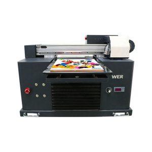a4 uv tiskárna univerzální plochý tiskárna reliéfní telefon kryt t košile tisk