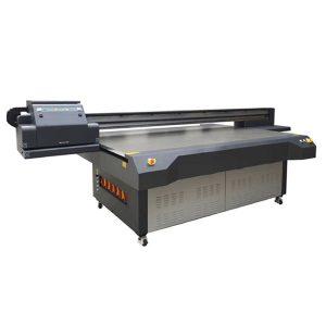 2018 malý inkoustový uv plochý tiskový stroj