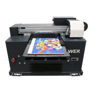 levná cena a4 velikost uv led tiskárna pro všechny materiály